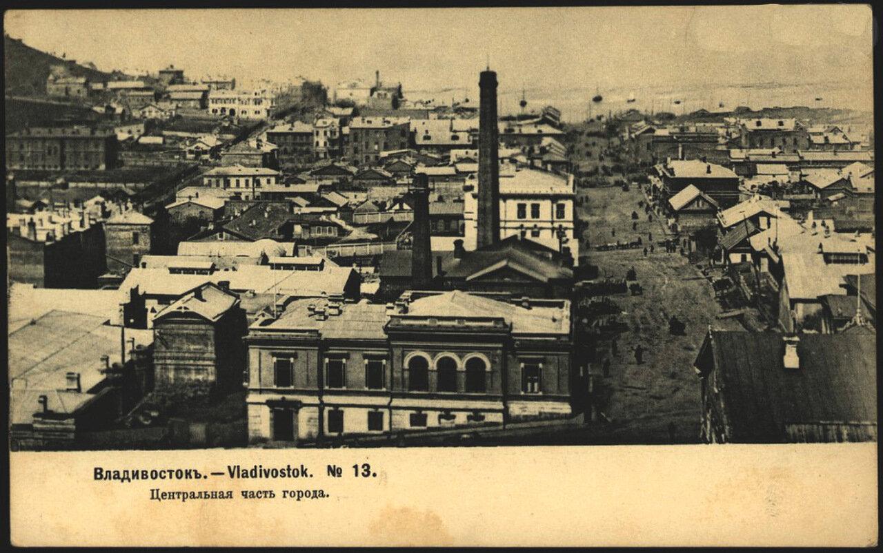 Владивосток. Центральная часть города 1904.