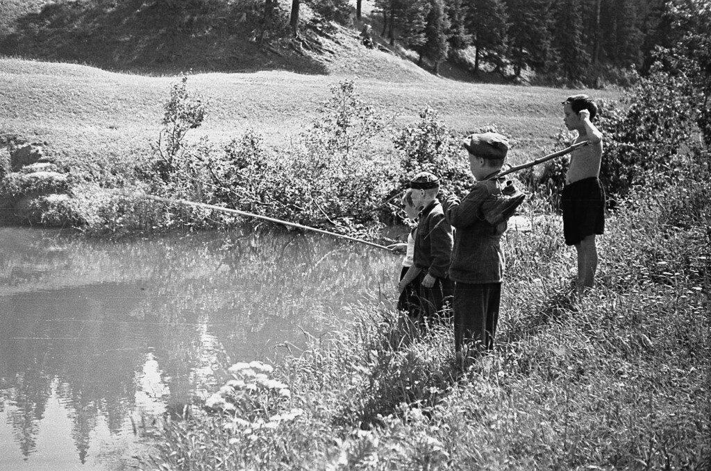 Командная рыбалка.