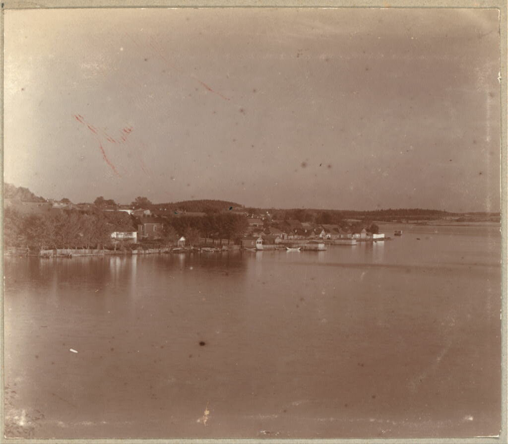 Вид на Кушвинский пруд. 1909