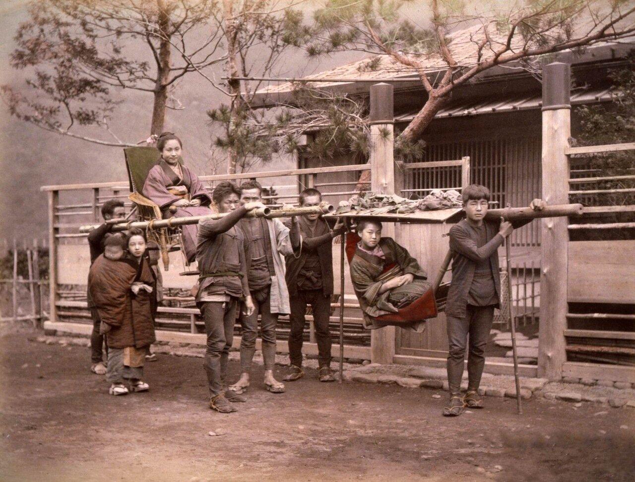 Носильщики, 1890 г.