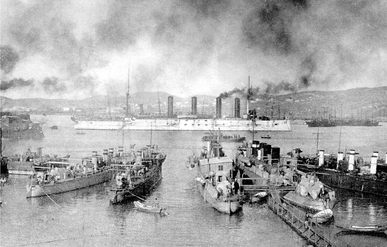 На рейде Порт-Артура
