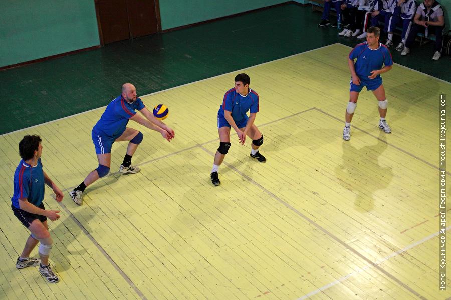 волейбол спартакиада речников команда «Порт Кимры»