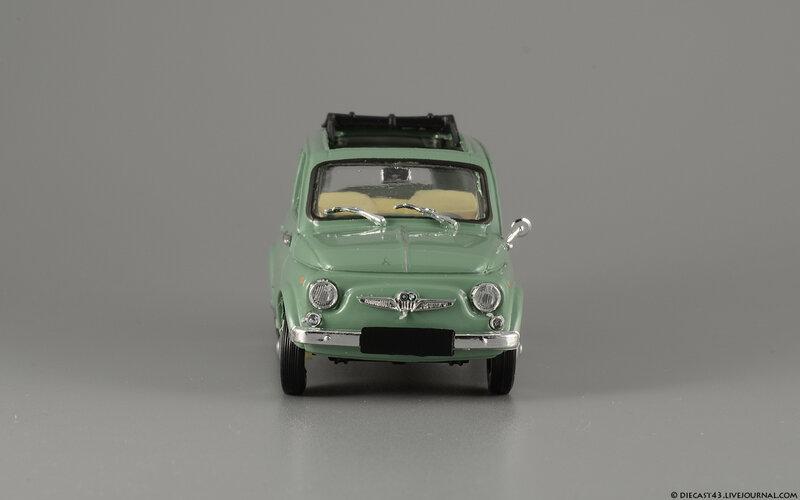 Вид снизу тоже хорош - насколько он соответствует оригинальному Steyr-Puch 700C и насколько разнится с моделями FIAT...