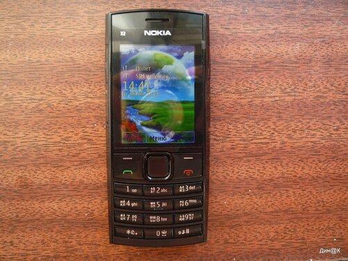 Nokia X2-02 (вид спереди)