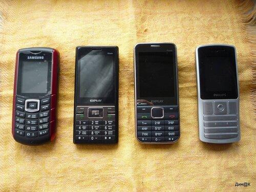 Samsung E2370, Explay Blade, Explay Power, Philips X130