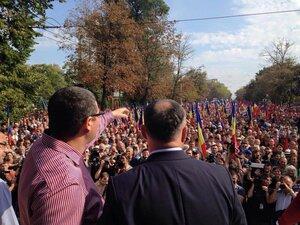 Протесты в Кишинёве продолжатся, пока не выполнят требования