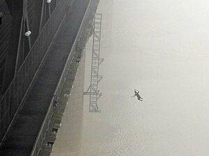 Китайский фотограф стал случайным свидетелем самоубийства
