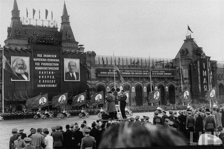 празднование 1 мая в СССР в 1958-ом году