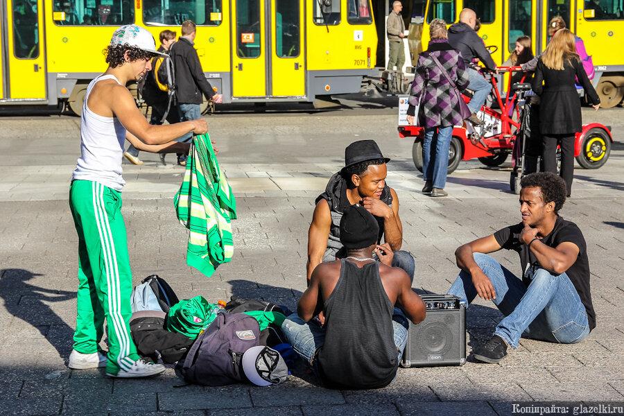 Танцоры. Берлин.