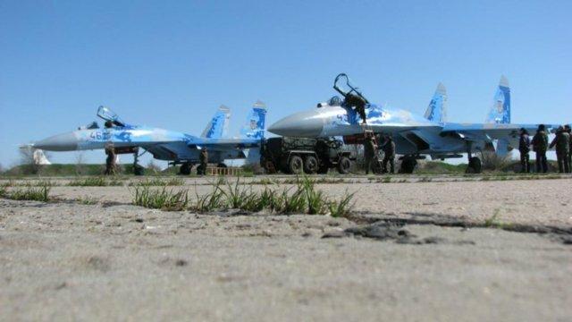Модернизация истребителей CУ-27 в Запорожье