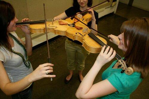 Тройная скрипка Triolin: не для солистов