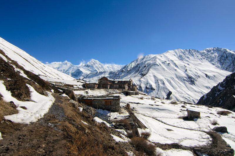 горы, непал, гималаи, ледар