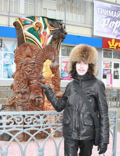 АРИЙ и интересная статуя