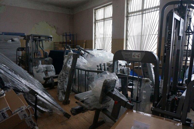 Оборудование для спорткомплекса в Максатихе
