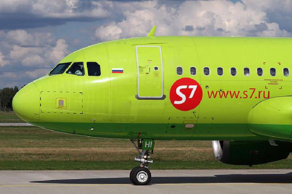 Спасатели сообщили оразгерметизации всамолете S7 «Москва— Екатеринбург»