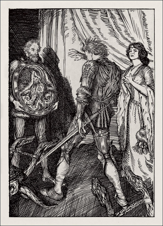 Edmund J. Sullivan, Sintram & his companions