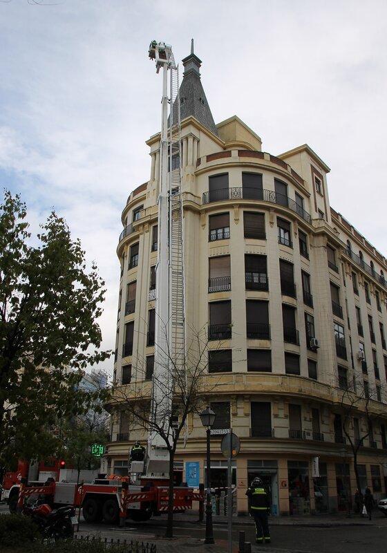 Мадрид. Проспект Алькала.