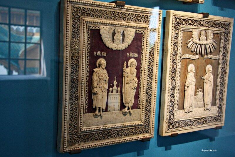 Резная кость-картинки с выставки