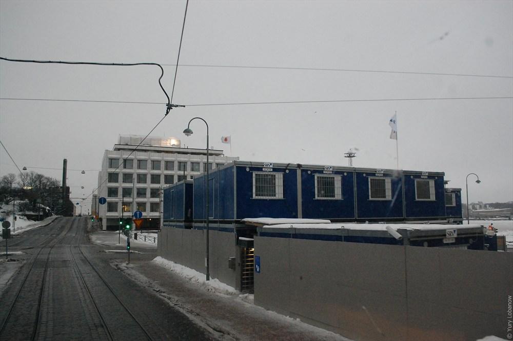 Хельсинки Строительная площадка «SRV»