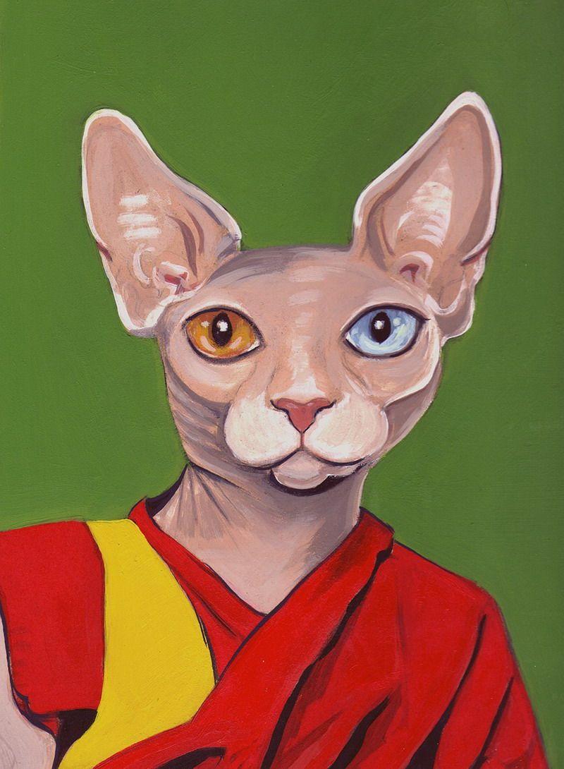 Одетые кошки от Heather Mattoon