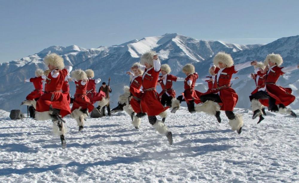 Народные танцы— национальное достояние Грузии.