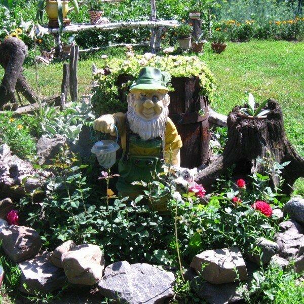 Рутарий (коряги в саду). Как сделать красивый рутарий