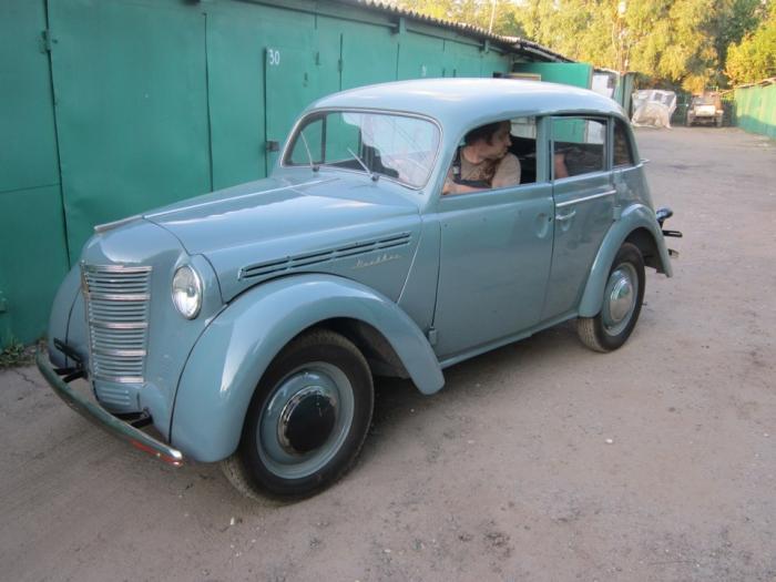 Реставрация Москвича-401