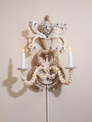 Декорирование ракушками