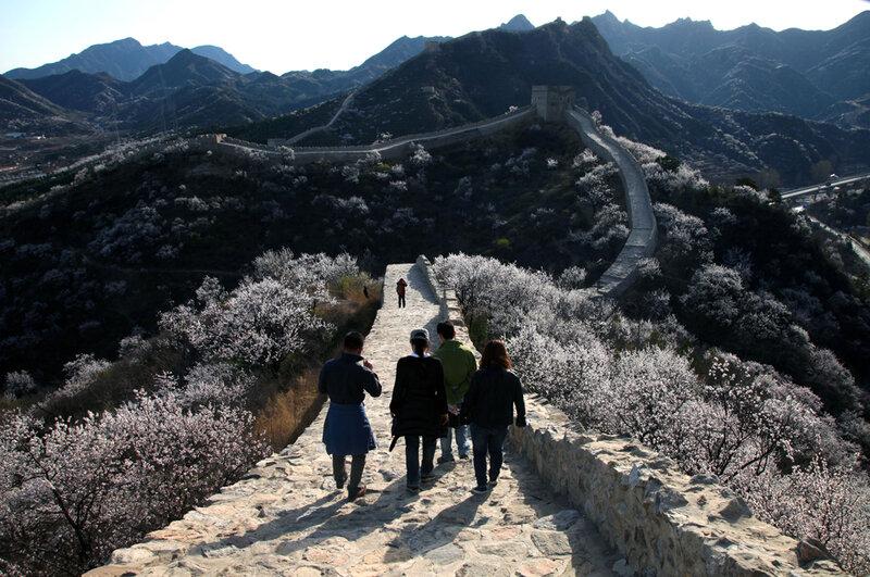 Чудесные виды Великой стены в начале весны 0 82288 5b8432c1 XL