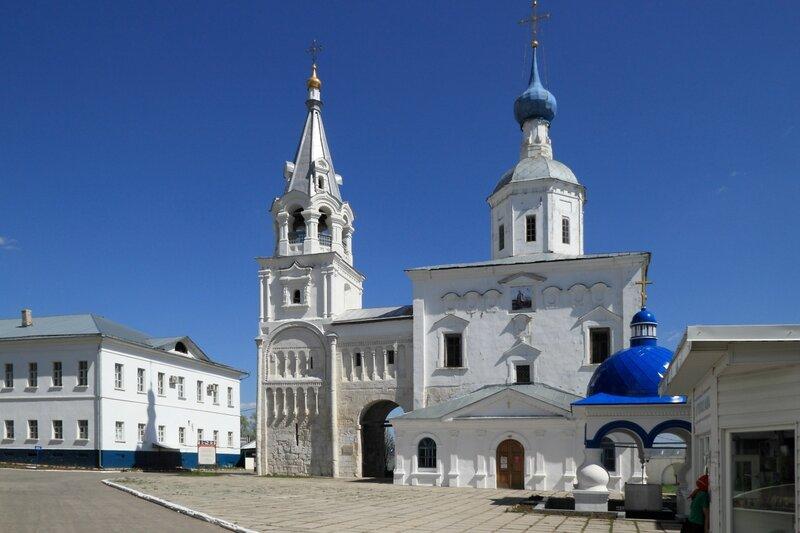 Свято-Боголюбский монастырь, церковь Рождества Пресвятой Богородицы, Боголюбово
