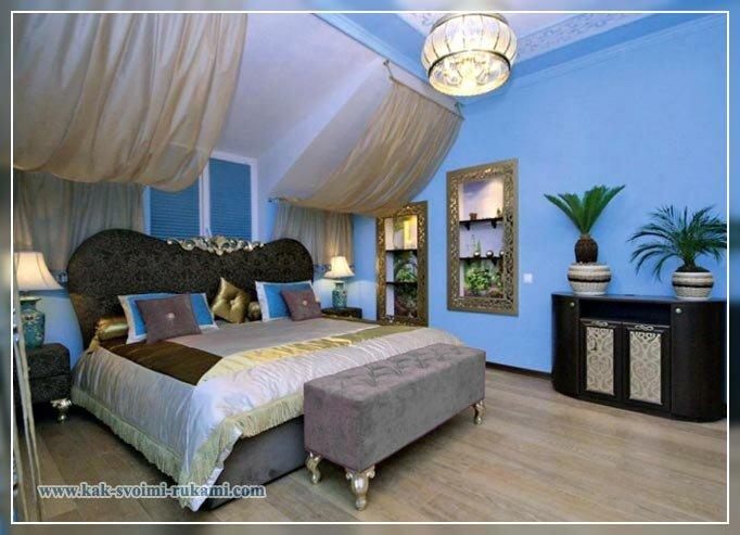интерьер комнат в восточном стиле