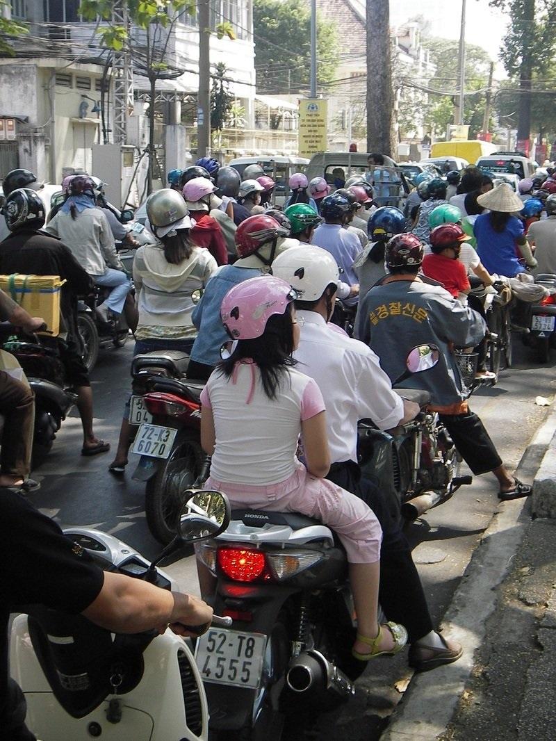 Транспортная проблема в Ханое