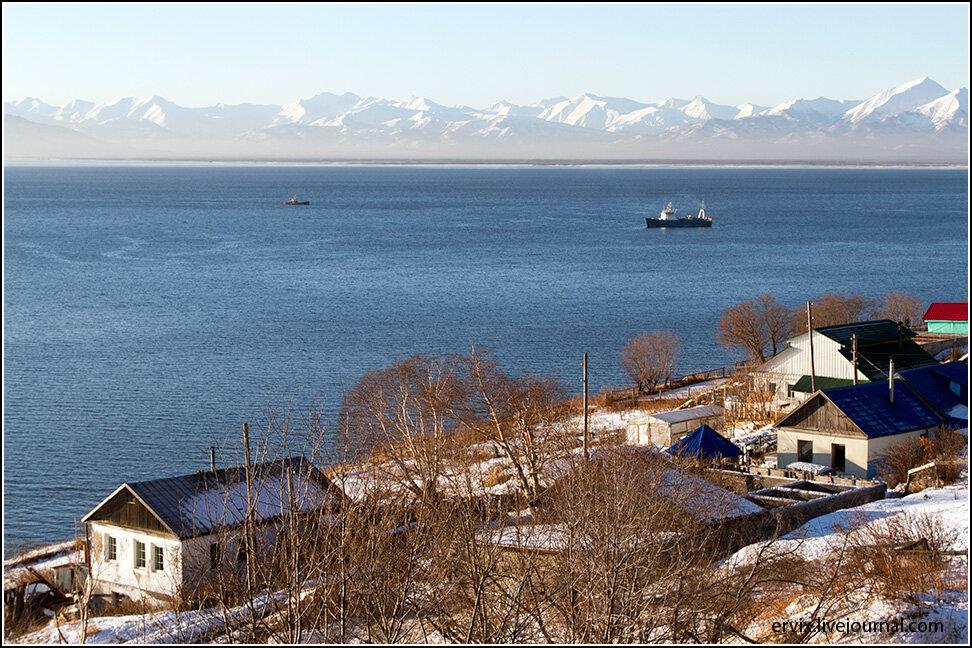 Авачинская бухта. Петропавловск Камчатский