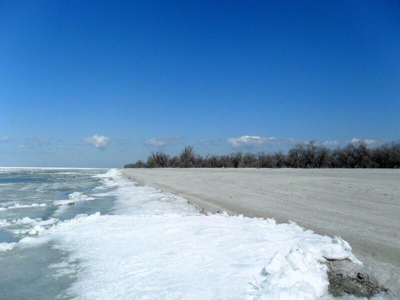За мартовскими льдами моря Азовского...