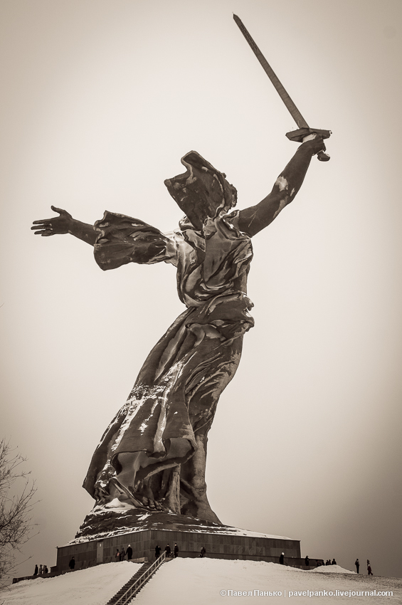 #Сталинград70 Волгоград Сталинград мамаев курган Панько
