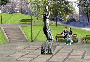 В сквере Моргородка во Владивостоке установили памятник Катюше