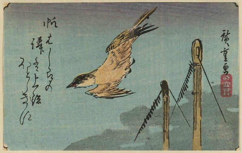 традиционная японская живопись: