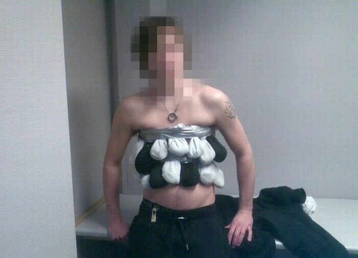 Необычный контрабандист из Норвегии задержан на таможне...