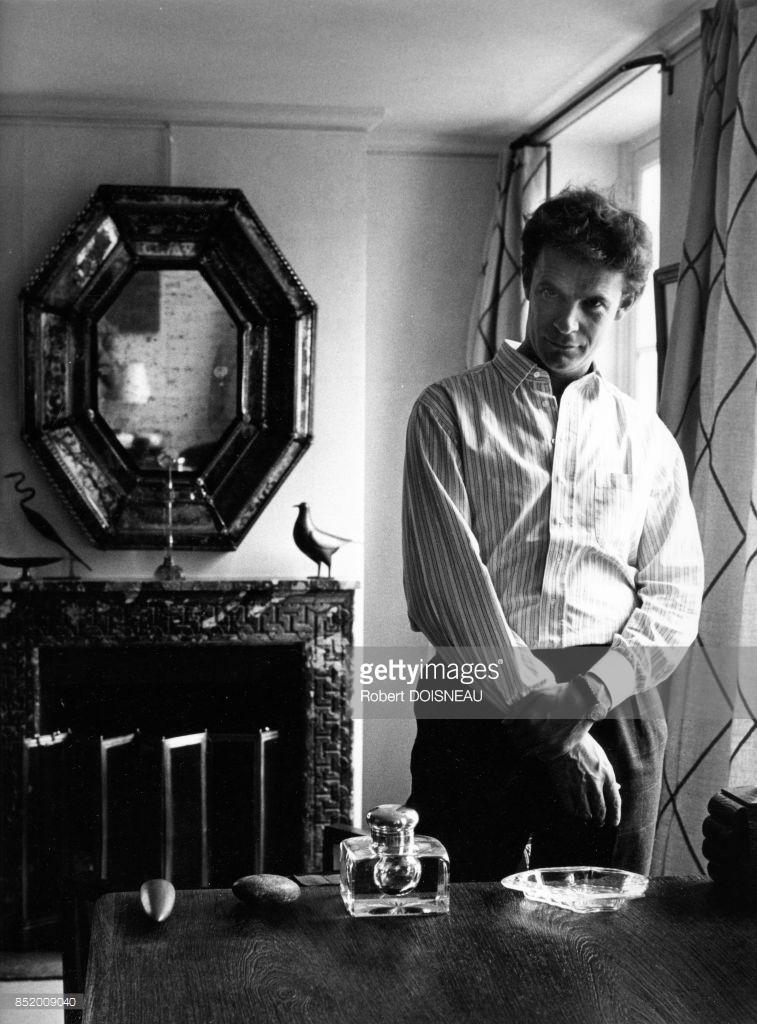 1985. Писатель Франсуа-Мари Банье на улице Сервандон, 18