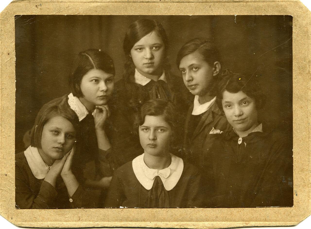 5 класс 265 школа г. Москвы 7 марта 1937г.