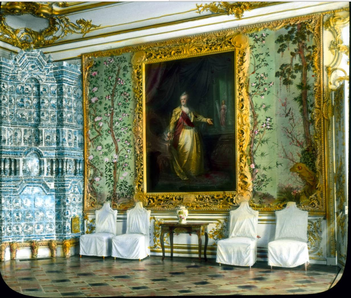 Пушкин (Царское Село). Интерьер Екатерининского дворца