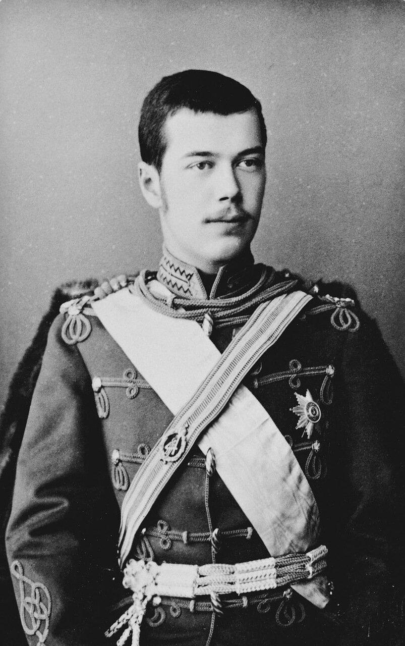 Цесаревич Николай Александрович, 1890 г.