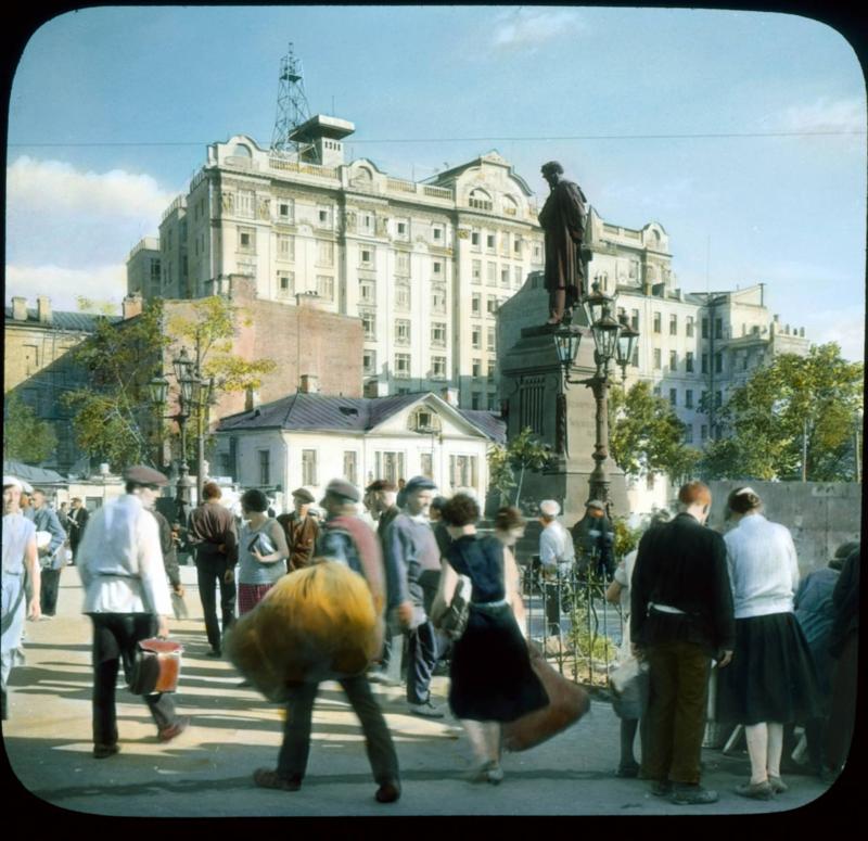 Москва. Пушкинская площадь