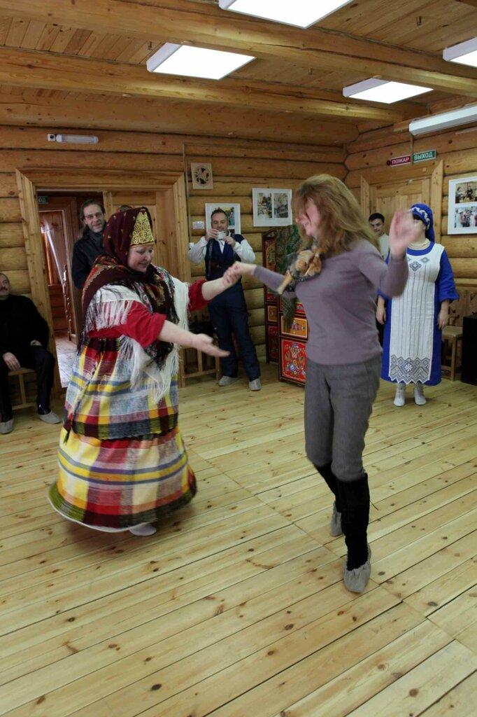 Масленница - танец с Масленницой 1