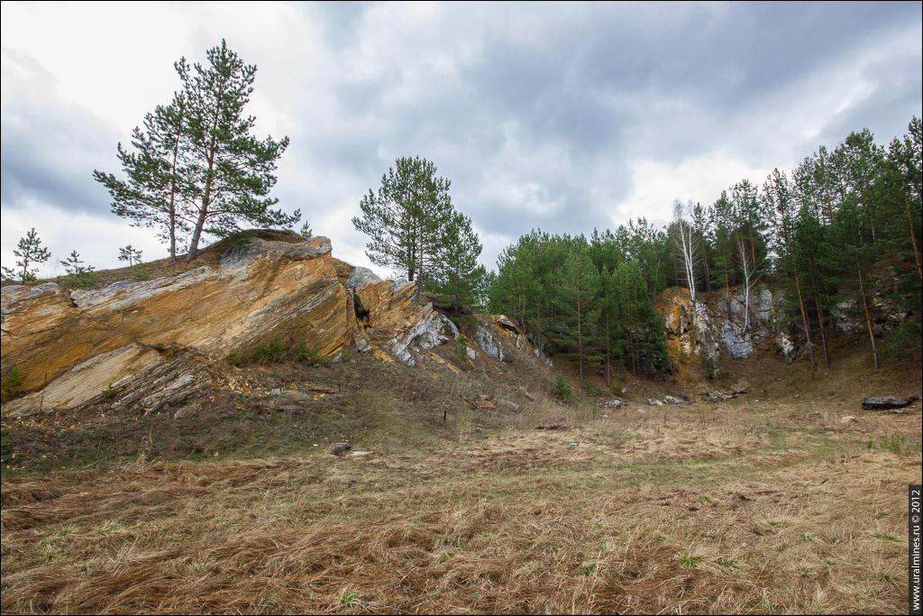 Колюткинские базальтовые скалы