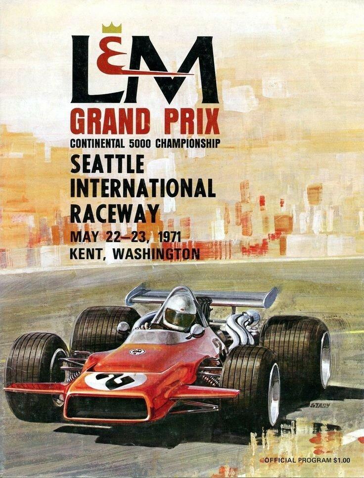 1971 L&M Grand Prix Race Program Kent, WA David Hobbs McLaren M10 Wins.jpg