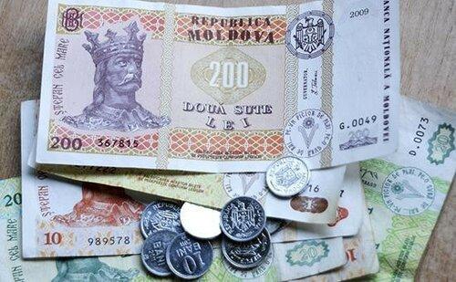 Очередное пике молдавского лея по отношению к евро и доллару