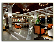 Малайзия. Лангкави. Sheraton Langkawi Beach Resort. Lobby Interior