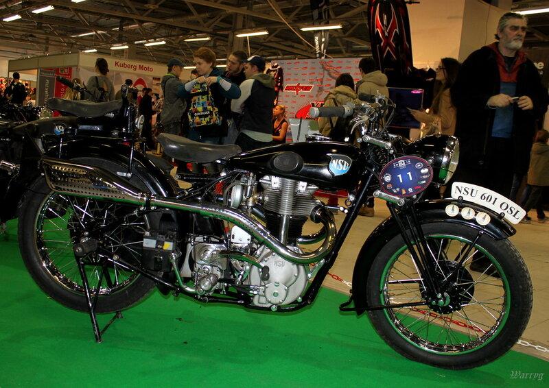 Немецкий мотоцикл NSU 601 OSL 1939 г.в.
