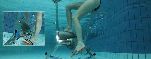 Аквабайк - подводный тренажер
